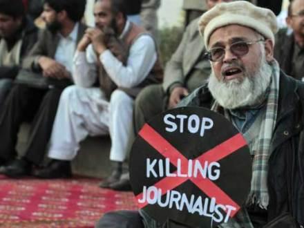 صحافی اور پاکستان میں بڑھتا عدم تحفظ