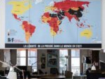 Pakistan ranks 145th in Press Freedom Index